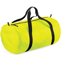 Taschen Reisetasche Bagbase BG150 Neongelb/Schwarz