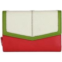 Taschen Damen Portemonnaie Eastern Counties Leather  Pink/Weiß