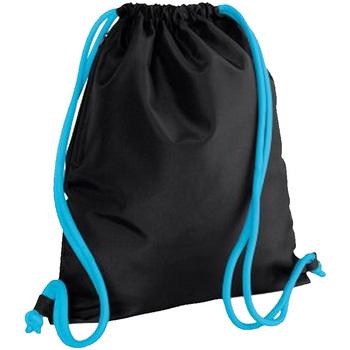 Taschen Kinder Sporttaschen Bagbase BG110 Schwarz/ Blau