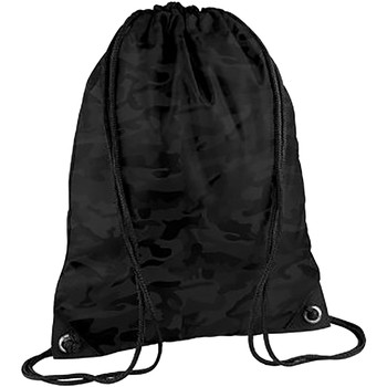 Taschen Kinder Sporttaschen Bagbase BG10 Mitternacht Camouflage