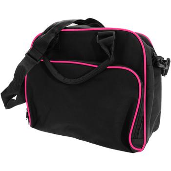 Taschen Kinder Schultasche Bagbase BG145 Schwarz/Fuchsia