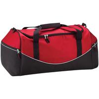 Taschen Sporttaschen Quadra QS70 Rot/Schwarz/Weiß