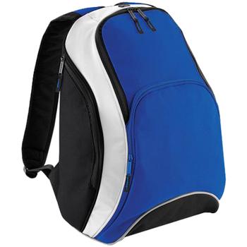 Taschen Rucksäcke Bagbase BG571 Königsblau/Schwarz/Weiß