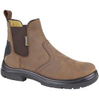 Schuhe Herren Boots Grafters  Dunkelbraun