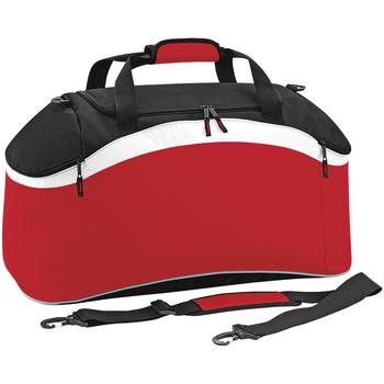 Taschen Sporttaschen Bagbase BG572 Rot/Schwarz/Weiß