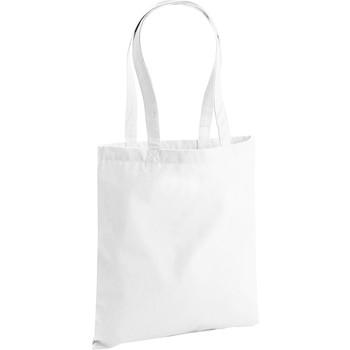 Taschen Shopper / Einkaufstasche Westford Mill W801 Weiß