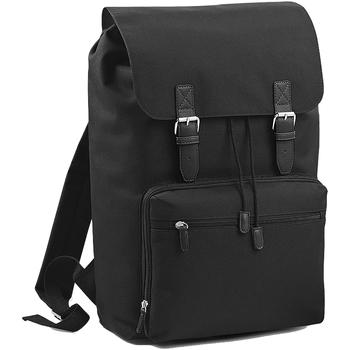 Taschen Rucksäcke Bagbase BG613 Schwarz/Schwarz
