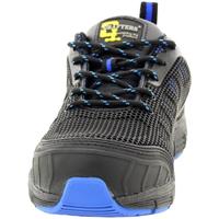 Schuhe Herren Sicherheitsschuh Grafters  Schwarz/Blau