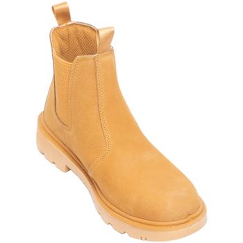 Schuhe Herren Sicherheitsschuh Grafters  Honig Nubuk