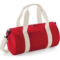 Taschen Sporttaschen Bagbase B140S Rot/Off Weiß