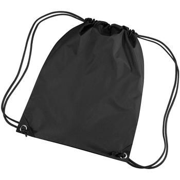 Taschen Kinder Sporttaschen Bagbase BG10 schwarz