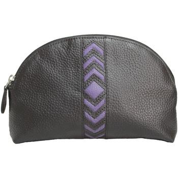 Taschen Damen Kulturbeutel Eastern Counties Leather  Violett