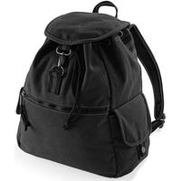 Taschen Rucksäcke Quadra QD612 Vintage Schwarz