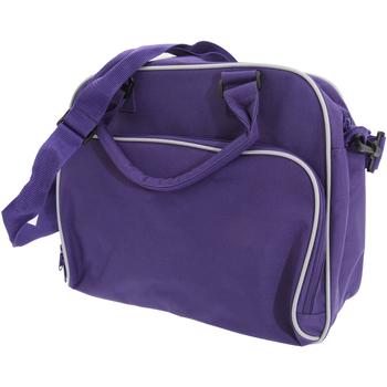 Taschen Kinder Schultasche Bagbase BG145 Violett/Hellgrau
