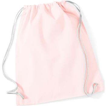 Taschen Kinder Sporttaschen Westford Mill W110 Pastellrosa/Weiß