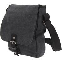 Taschen Herren Geldtasche / Handtasche Quadra QD624 Vintage Schwarz