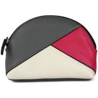 Taschen Damen Geldbeutel Eastern Counties Leather  Grau/Pink/Weiß