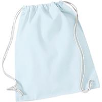 Taschen Kinder Sporttaschen Westford Mill W110 Pastell Blau/ Weiß