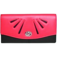 Taschen Damen Portemonnaie Eastern Counties Leather  Rosa/Schwarz
