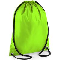 Taschen Kinder Sporttaschen Bagbase BG5 Limette