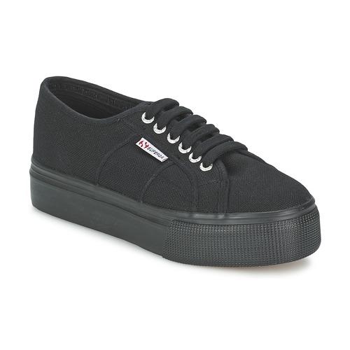 Superga 2791 COTEW LINEA Schwarz Schuhe Sneaker Low Damen 67,99