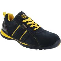 Schuhe Herren Sneaker Low Grafters  Marineblau/Gelb