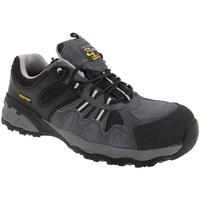 Schuhe Herren Sneaker Low Grafters  Grau/Schwarz