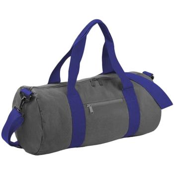 Taschen Reisetasche Bagbase BG140 Hellgrau/French Navy