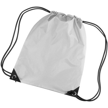 Taschen Kinder Sporttaschen Bagbase BG10 Silbergrau