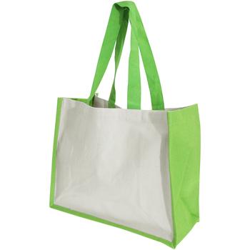 Taschen Damen Shopper / Einkaufstasche Westford Mill W422 Apfelgrün