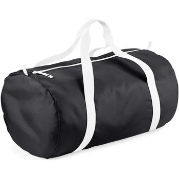 Taschen Reisetasche Bagbase BG150 Schwarz/Weiß