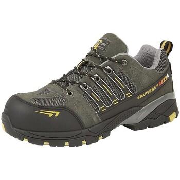 Schuhe Herren Sicherheitsschuh Grafters  Grau/Gelb