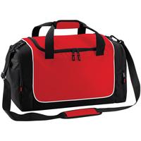 Taschen Sporttaschen Quadra QS77 Rot/Schwarz/Weiß