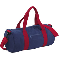 Taschen Reisetasche Bagbase BG140 Marineblau/Rot
