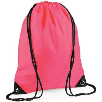 Taschen Kinder Sporttaschen Bagbase BG10 Neon Pink