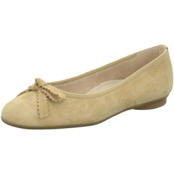 Schuhe Damen Ballerinas Paul Green 2579 2579-046 beige