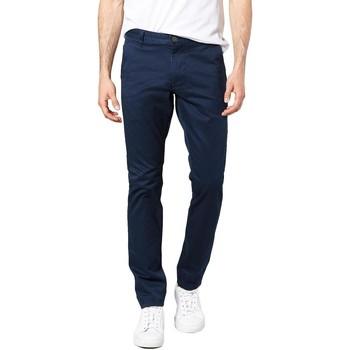 Kleidung Herren Chinohosen Dockers ALPHA ORIGINAL SKINNY PEMBROKE TWILL blue