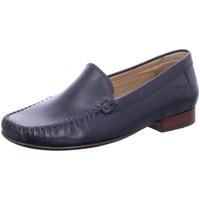 Schuhe Damen Slipper Sioux Slipper Campina 63116 blau