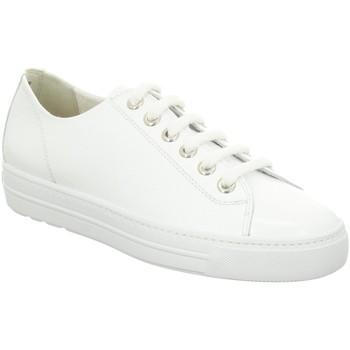 Schuhe Damen Sneaker Low Paul Green Schnuerschuhe 0066-4927-006/Pauls 4927-006 weiß