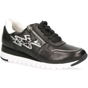 Schuhe Damen Sneaker Low Caprice Schnuerschuhe Woms Lace-up 9-9-23700-24/019 019 schwarz