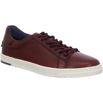 Schuhe Herren Sneaker Low Bugatti Schnuerschuhe Orazio rot