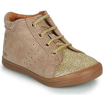 Schuhe Mädchen Sneaker High GBB NAHIA Beige / Gold