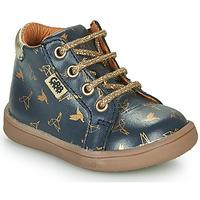 Schuhe Mädchen Boots GBB FAMIA Blau / Gold