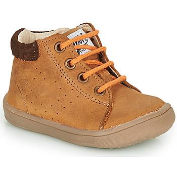 Schuhe Jungen Boots GBB FOLLIO Braun