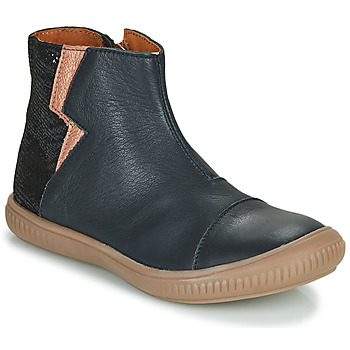 Schuhe Mädchen Boots GBB SAVERIA Marine / Rose