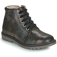 Schuhe Mädchen Boots GBB NAREA Schwarz
