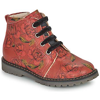 Schuhe Mädchen Boots GBB NAREA Rot