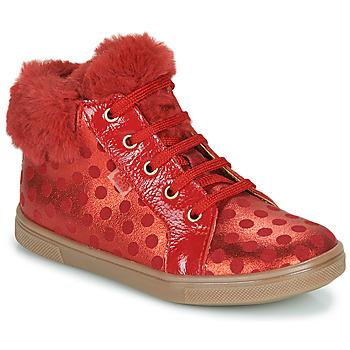 Schuhe Mädchen Sneaker High GBB JUNA Rot