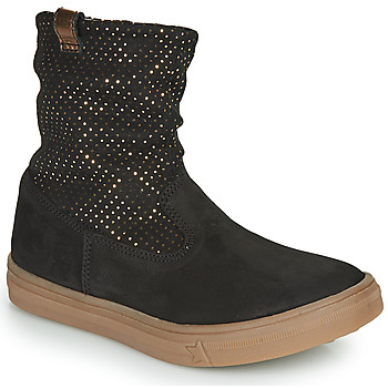Schuhe Mädchen Klassische Stiefel GBB KINGA Schwarz