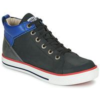 Schuhe Jungen Sneaker High GBB MERINO Schwarz